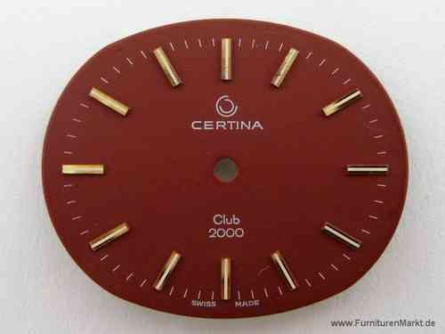 CERTINA, Clup 2000, Zifferblatt,