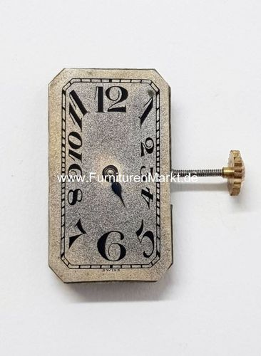 Rectangular-Werk, Tacy Watch Co., 3 Adj, 15 Jels